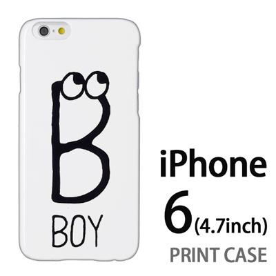 iPhone6 (4.7インチ) 用『0623 「B」』特殊印刷ケース【 iphone6 iphone アイフォン アイフォン6 au docomo softbank Apple ケース プリント カバー スマホケース スマホカバー 】の画像
