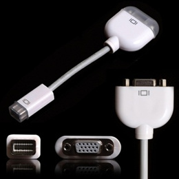 Apple用 Mini DVI-VGAアダプタ