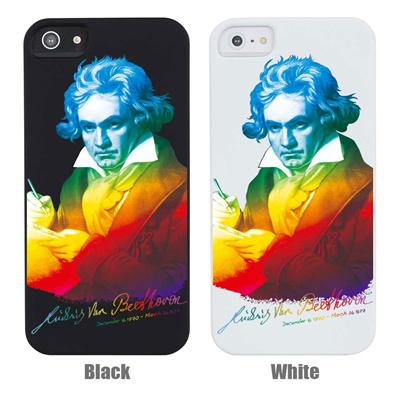 【iPhone5S】【iPhone5】【GENIUS】【iPhone5ケース】【カバー】【スマホケース】【ベートーベン】【ミュージック】 ip5-06ge0013の画像