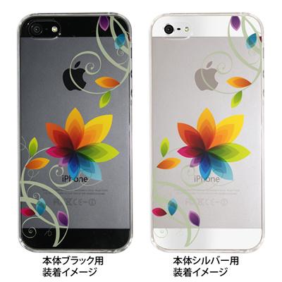 【iPhone5S】【iPhone5】【Clear Fashion】【iPhone5ケース】【カバー】【スマホケース】【クリアケース】【フラワー】 22-ip5-ca0032の画像