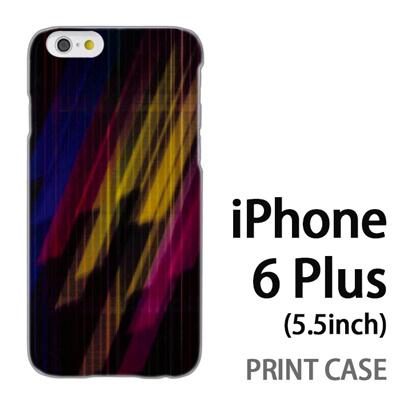 iPhone6 Plus (5.5インチ) 用『No3 カラフル閃光』特殊印刷ケース【 iphone6 plus iphone アイフォン アイフォン6 プラス au docomo softbank Apple ケース プリント カバー スマホケース スマホカバー 】の画像