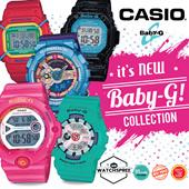 *CASIO GENUINE* CASIO BABY-G COLLECTION! BA110 BG1006SA BG169R BGD140 BLX5600 BG6900 BG6902 Free Reg. Shipping and 1 Year Warranty!