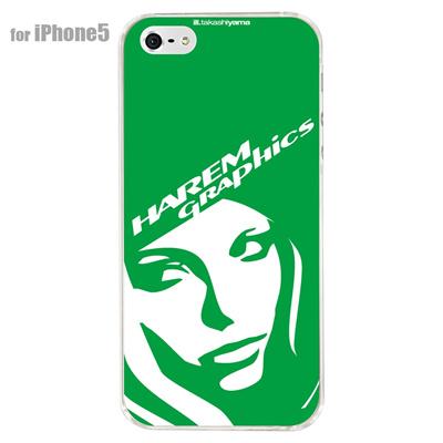 【iPhone5S】【iPhone5】【HAREM graphics】【iPhone5ケース】【カバー】【スマホケース】【クリアケース】 HGX-IP5C-021Jの画像