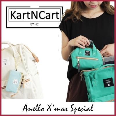 c4023e5e7d1e  100% AUTHENTIC ANELLO  JAPAN BEST-SELLING BACKPACK TOTERUCKSACK SLINGBAG  POUCH LOCAL SG