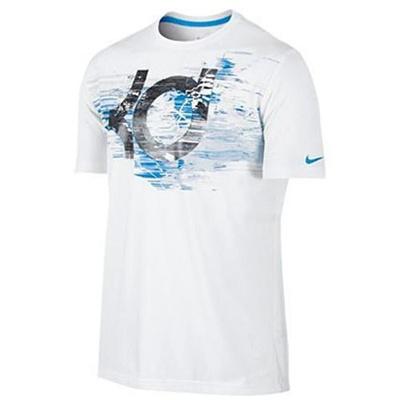 ◆即納◆ナイキ(NIKE) KD ファンデーション ロゴ Tシャツ 618903 100 【セール バスケットボール ケビン デュラント トレーニングウェア】の画像