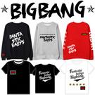 2016 BIGBANG2016日本FM LOGO半袖Tシャツ★ファンの会见会Fantastic  Babys bigbang GDTOPトレーナー★野球服★/G-DRAGON/T.O.P/SEUNGRI/TAEYANG/DAESUNG/bigbangファッション/bigbang 服/ビッグバン
