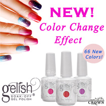 ★NEW! Color Change Effect Series! ★ Gelish Gel Nail Polish Over 500 Colors! ★ Long Wear Long lasting up to 30 days with proper application! ★ Crown Gelish Salon Top Grade Quality Results! ★