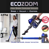 ECOZOOM High Speed Cordless Vacuum ★★German Tech.★★ 1 Yr warranty. Wireless/Power Suction/Detachable Lithium Battery/For car and household/Available at car retail shop/ www.mobot.sg