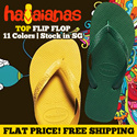 [HAVAIANAS]TOP Filp flop 100% Authentic Local Free Shipping