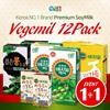 Korea NO.1 Brand★Vegemil Selection 12Pack★1+1 Event / Premium soymilk/light texture/korchina_B2C16_2