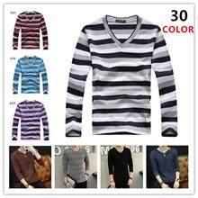 2017新品 春 秋   メンズ  長袖 半袖 ポロシャツ Tシャツ  メンズ ニット Tシャツ 上品  20  color