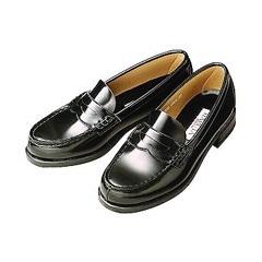 (B倉庫)HARUTA ハルタ 4505 レディース ローファー 通学 学生 靴 3Eの画像