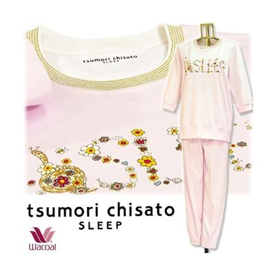 25%OFF ツモリチサト【tsumori chisaro ~ワコール~】 パジャマ ♪~SLEEP~♪の画像