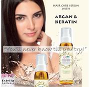 Hair Care Serum with Argan + Keratin / Revitalizing Essence