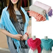 100% Cotton Ladies Scarf~Shawl~Scarves~~Buy 8pcs IN 1 Shipping Fee~~