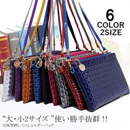 スマホOK✨長財布OK✨ちょっとしたお出かけ用にぴったりなショルダーバッグ💛 ミニ 立体型 カバン カラーバリエーション 2サイズ バッグ  【一部予約販売】
