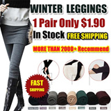 SG Delivery!!  Winter Leggings {Fast DELIVERY}  hot add fertilizer increased with velvet Leggings/thickening waist/cashmere nine Pants/very warm