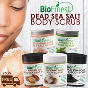 70% OFF - Essential Oil Dead Sea Salt Scrub 250g  ★Made in USA★ Arabica Coffee/ Argan Oil/ Coconut