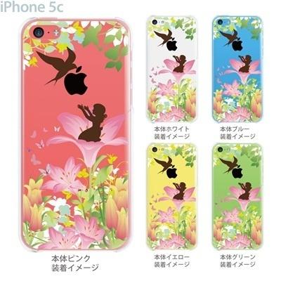 【iPhone5c】【iPhone5c ケース】【iPhone5c カバー】【ディズニー】【ケース】【カバー】【スマホケース】【クリアケース】【クリアーアーツ】【親指姫】 08-ip5c-ca0100ebの画像