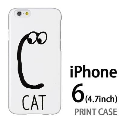iPhone6 (4.7インチ) 用『0623 「C」』特殊印刷ケース【 iphone6 iphone アイフォン アイフォン6 au docomo softbank Apple ケース プリント カバー スマホケース スマホカバー 】の画像
