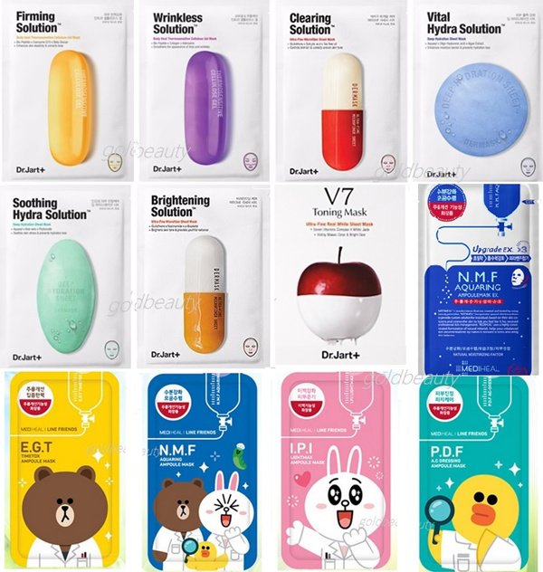 Buy Mediheal Mask Line Friends Facial innisfree laneige Face Mask Pack Animal dr jart whitening NEW ! Deals for only S$10.99 instead of S$0