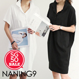 ★ Korea fashion industry NO.1 Naning9 ★limited special price ♥ incredible bargain ♥ 2015 S / S New! High Quality!/Trendy dress/DIKY*OPS