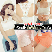 【SG Delivery】【ONE DAY BIG SALE】Best-Selling Sexy Camisole Bra Sports Bra Cage Bra Lingerie Inner Pants Safety Pants Hot pants Short Bikini T-Shirt Dress Blouse Tops Midi Skirt
