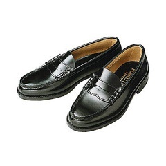 (B倉庫)HARUTA ハルタ 6550 メンズ ローファー 通学 学生 靴 3E ビジネスシューズの画像