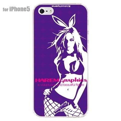 【iPhone5S】【iPhone5】【HAREM graphics】【iPhone5ケース】【カバー】【スマホケース】【クリアケース】【ストリート】【ブランド】 hgx-ip5c-024eの画像