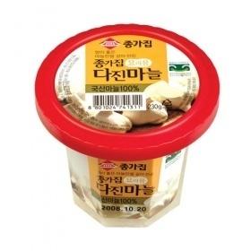 【韓国食品・韓国の冷蔵品】 ■韓国産宗家のおろしにんにく(230g)■の画像