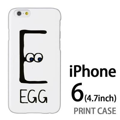 iPhone6 (4.7インチ) 用『0623 「E」』特殊印刷ケース【 iphone6 iphone アイフォン アイフォン6 au docomo softbank Apple ケース プリント カバー スマホケース スマホカバー 】の画像