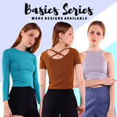 ★LASTEST CASUAL TOP★★MORE DESIGN UPDATE★ ★MORE COLOR AVAILABLE★ Basics / Essential / Chic Design / Ladies Tops / Casual Basics / tops / Everyday Style / Fast Shipping / SG Seller