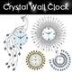 【YOUTING】unique crystal clock 3D Modern art Clock ❤Flip Clock❤Meidi Wall clock❤DIY digital creative gifts❤ little bird swing clock