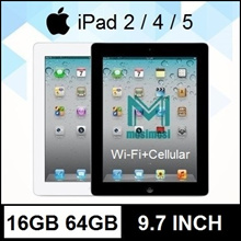 ★MULTI MODEL★ Apple iPad 2 | iPad 4 | iPad Air | iPad mini | WIFI+Cellular | 16GB | 64GB | Refurbish