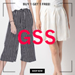 2 For the Price of 1! Print culottes on SALE!