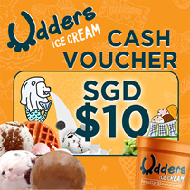 Udders e-Cash Voucher SGD$10 [AVAILABLE ONLY AT UDDERS STORE ONLY]