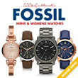 ⍟[Brand New 100% Authentic Fossil CH2573 ES3060 ES3077 ES3148 FS4542 FS4813 FS4930 JR1436 JR1437 JR1457 Retro Chronograph Leather Silicone Stainless Steel Watch]⍟