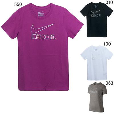 ナイキ (NIKE) レディース JDI GLAM スウッシュ Tシャツ 686968 [分類:Tシャツ (レディース)]の画像