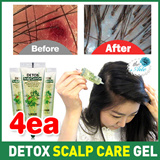(1+1+1+1) Detox Scalp Care Gel / 15mlx4ea / Anti-Virus Anti-Acne Natural Scrub-4 / hair