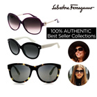 100% AUTHENTIC Best Seller Collections ★94% Buyers Satisfaction!!★ Salvatore Ferragamo Designer Sunglasses /Free delivery /sunglasses / uv protection / glasses / fashion goods / EYESYS