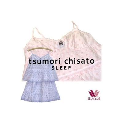 25%OFF ツモリチサト【tsumori chisaro ~ワコール~】 かぎ編みレース キャミソールスカートの画像