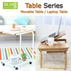 [BLMG_KR] Bamboo Adjustable Laptop Table/ multi-angle/ computer table/ portable table/multi function
