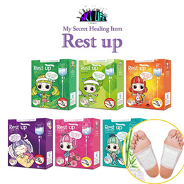 [RESTUP]★Rest up foot therapy Sap Patch★light and rereshing/6Type/Made in korea/SBA17_004