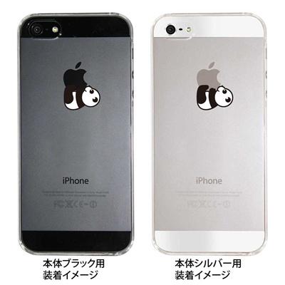 【iPhone5S】【iPhone5】【iPhone5】【ケース】【カバー】【スマホケース】【クリアケース】【パンダB】 ip5-08-ca0020の画像