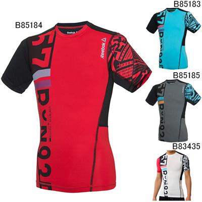 リーボック (Reebok) ワンシリーズ Comp グラフィック ショートスリーブTシャツA BM604 [分類:コンディショニングシャツ (メンズ・ユニセックス)]の画像