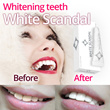 ★May-only Sale★Whitescandal Whitening Teeth Makeup Self teeth whitening