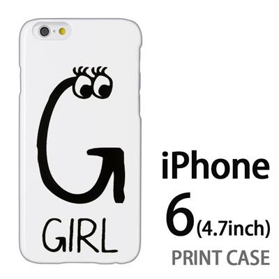 iPhone6 (4.7インチ) 用『0623 「G」』特殊印刷ケース【 iphone6 iphone アイフォン アイフォン6 au docomo softbank Apple ケース プリント カバー スマホケース スマホカバー 】の画像