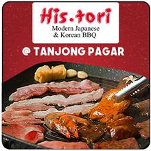 [His.tori] Grand Reopening! Korean N Japanese BBQ BUFFET! Located at Tanjong Pagar |