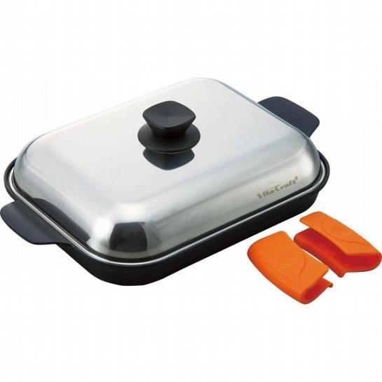 キッチン・鍋・パン キッチン プレゼント ビタクラフト グリルパン 3001 【直送品の為、代引き不可】