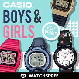 [Best of 2018] *CASIO GENUINE* Casio Watches for Kids. Boys and Girls Collection. Free Shipping!